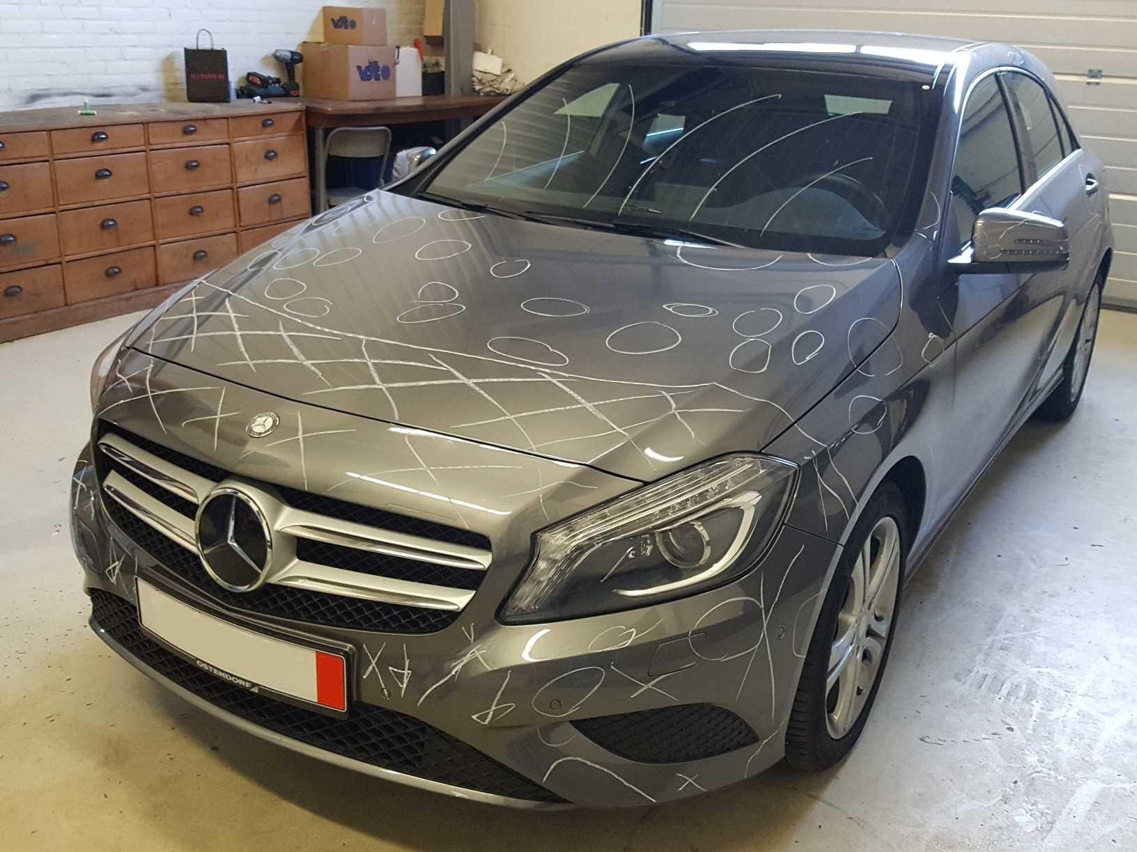 Mercedes Benz taxatie